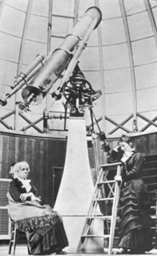 Maria Mitchell, Vassar Telescope & Mary Whitney