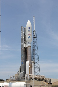 Atlas V and Juno spacecraft