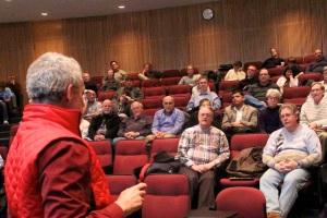 AAAP Enjoys Dr. Shara's Talk  Credit: Ken Levy