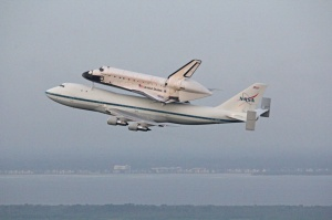 Endeavour Departs Kennedy Space Center.  Photo: Ken Kremer