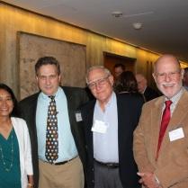 Bob Vanderbei & wife, Saul Moroz, David Kaplan
