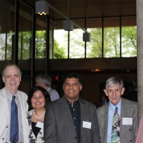 Arshad Jilani, Richard Gott, Surabhi Agarwal, Vasi Rahaman, Freeman Dyson, Mrs. Rahaman
