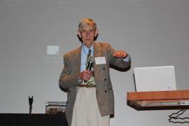 Freeman Dyson speaking on 50th anniversary of AAAP