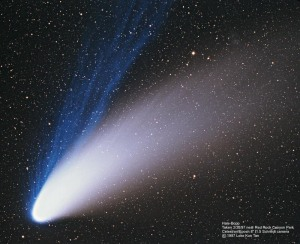 Comet Hale-Bopp. Photo credit: NASA