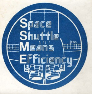 Shuttle Sticker