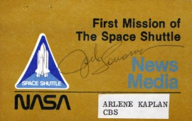 First Flight Signed Patch