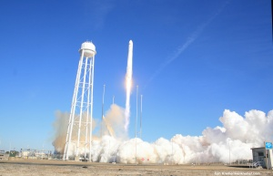 Remote Camera at Launch Pad Captures Antares Blast Off  Credit: Ken Kremer – kenkremer.com