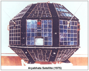 Aryabhata, India's first satellite, named after the great Indian mathematician- astronomer Aryabhata (476–550 CE)