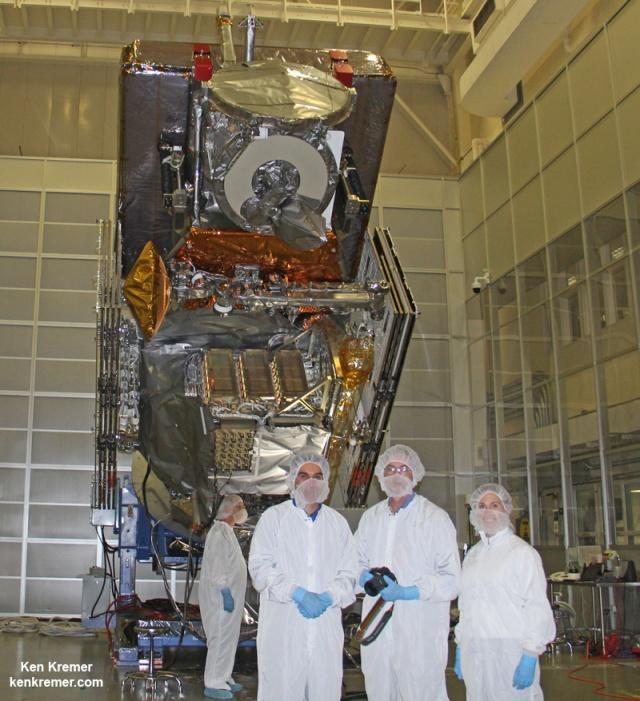 NASA/JAXA Global Precipitation Measurement (GPM) satellite