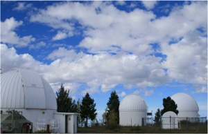 Some of the domes of Mt Lemmon (the 32-inch RCOS is in the dome on the left).