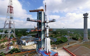 GSLV-D6 on the Launch Pad Credit: ISRO