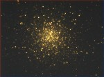 Hercules cluster M13 with Ultrastar-C/Starlight Live 8 sec image/stacking mean.
