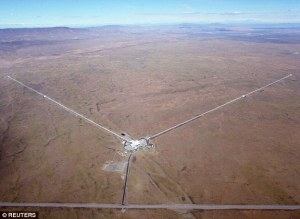Aerial view of LIGO. Credit - Dailymail