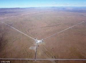 Aerial view of LIGO. Credit - Dailymail