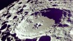 Crater on Lunar Surface