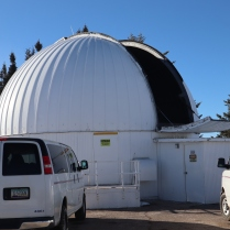 Mt Lemmon dome 32in telescope